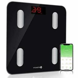 Etekcity Smart Bluetooth Body Fat Scale - Digital Bathroom W