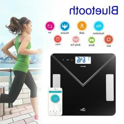 Smart Body Bathroom Weight Scale Fat Bones BMI Digital Bluet