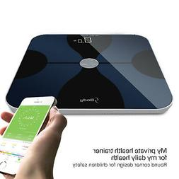 Smart Body Fat Composition Scale with iOS & Android App for