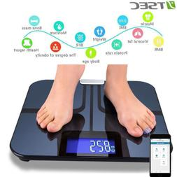 Smart Body Fat Weight Scale Wifi Accurate Bluetooth Bathroom