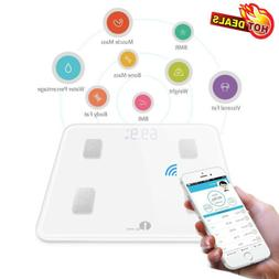 1byone Smart Digital Bathroom Weight Fat Scale Body BMI Mobi