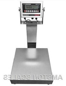 "STAINLESS STEEL 18""x24"" 500 LB DIGITAL SCALE SHIPPING FOOD W"