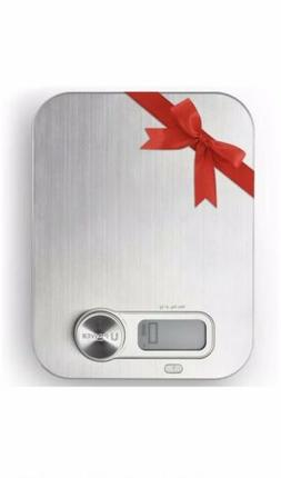 Stainless Steel LED Digital Scale For Food Diet Weight Kitch