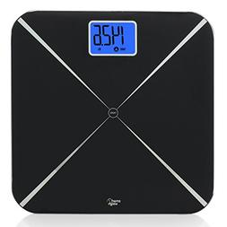 Smart Weigh 440lbs Smart Tare Body Weight Bathroom Digital S