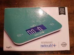 BRAND NEW SEALED OZERI TOUCH II 18 lbs DIGITAL KITCHEN SCALE