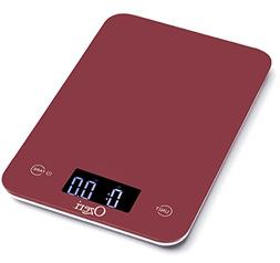 Ozeri Touch Professional Digital Kitchen Scale , Tempered Gl