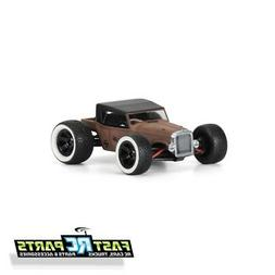 Traxxas 1/16 E-Revo VXL Rat Rod Clear Body shell fits 1/16 E