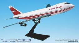 Flight Miniatures TWA '74-95 Boeing 747-100 1/250 Scale Mode