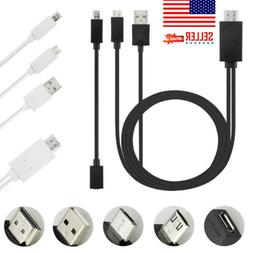 US SALE Universal Android Phone MHL Micro USB to HDMI 1080P