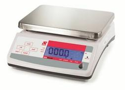 Ohaus, V11P6T, Valor 1000, Compact Food Scale,13 lb X 0.002