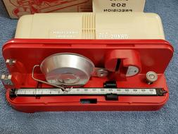 """Vintage Ohaus """"505"""" Precision Reloading Scale New Old Stock"""