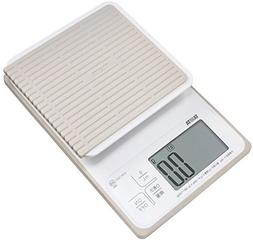 Tanita washable digital cooking scale 3kg  white KW-320-WH