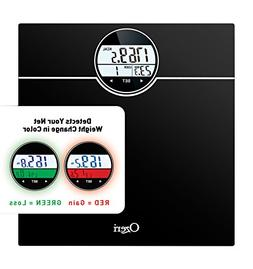 Ozeri WeightMaster  Bath Scale with BMI, BMR and 50 Gram Wei