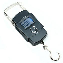 Digital Hanging Scale 50KG 110lbs x 0.02lb Travel Luggage Sc