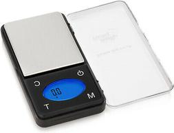 Smart Weigh ZIP600 Ultra Slim Digital Pocket Scale with Coun